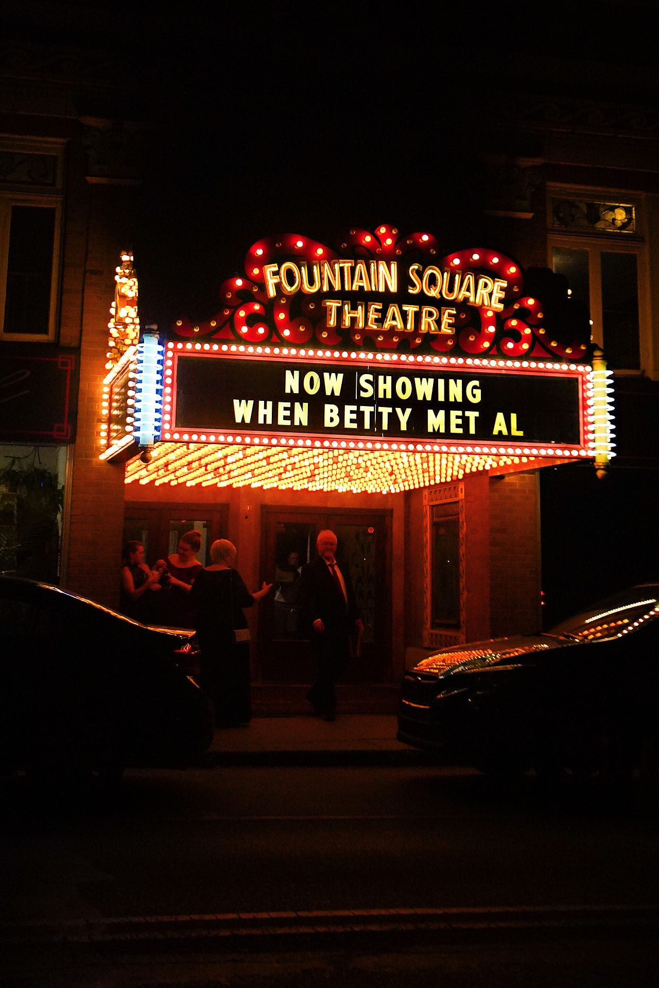Kara Sean Fountain Square Theater Indianapolis Wedding 338