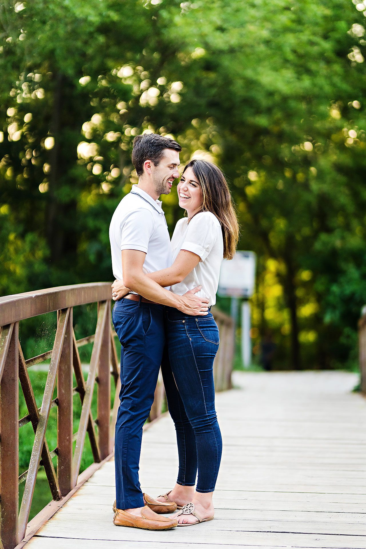 Kate Sawyer Holcomb Gardens Engagement Session 046