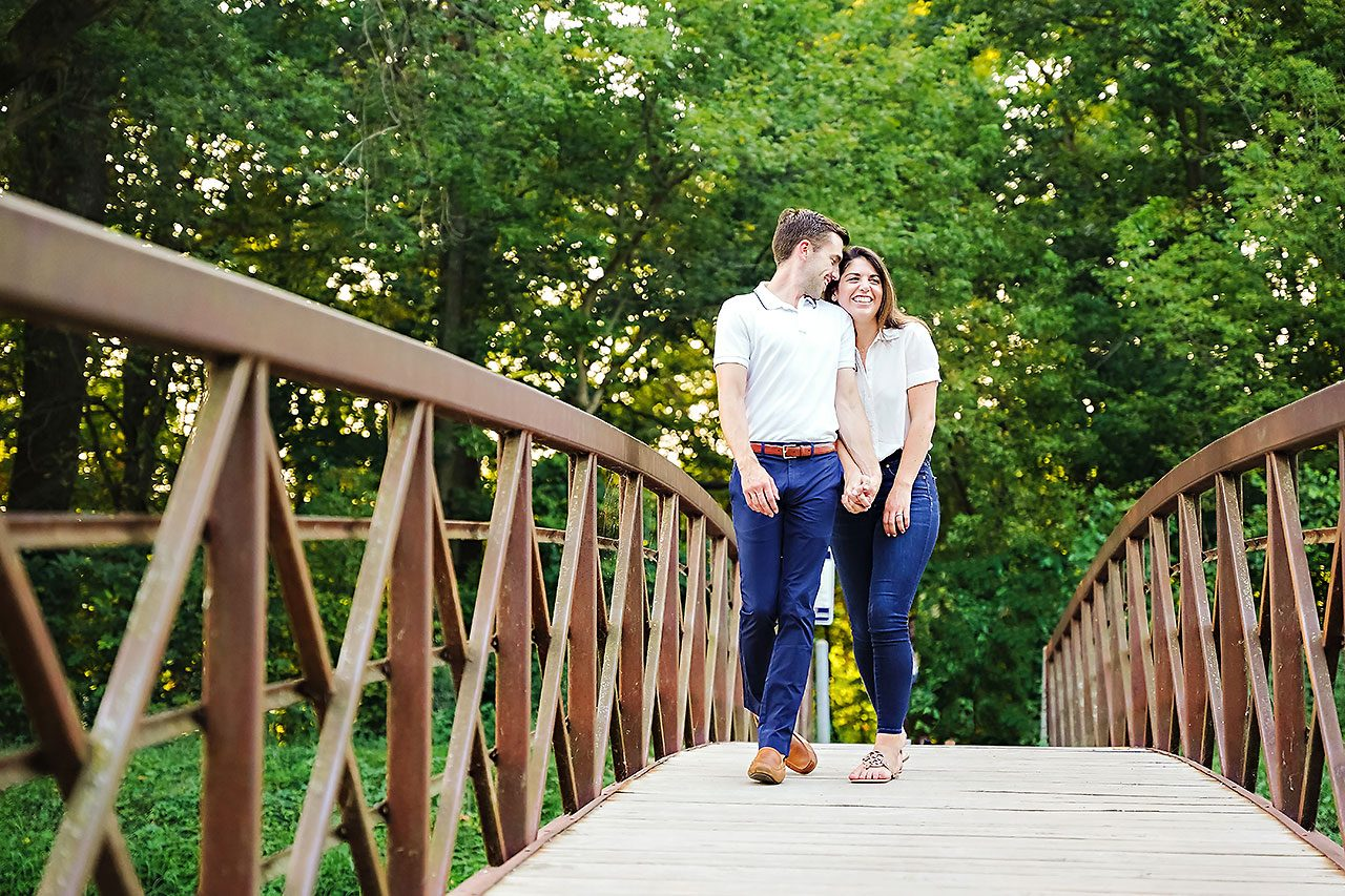 Kate Sawyer Holcomb Gardens Engagement Session 053