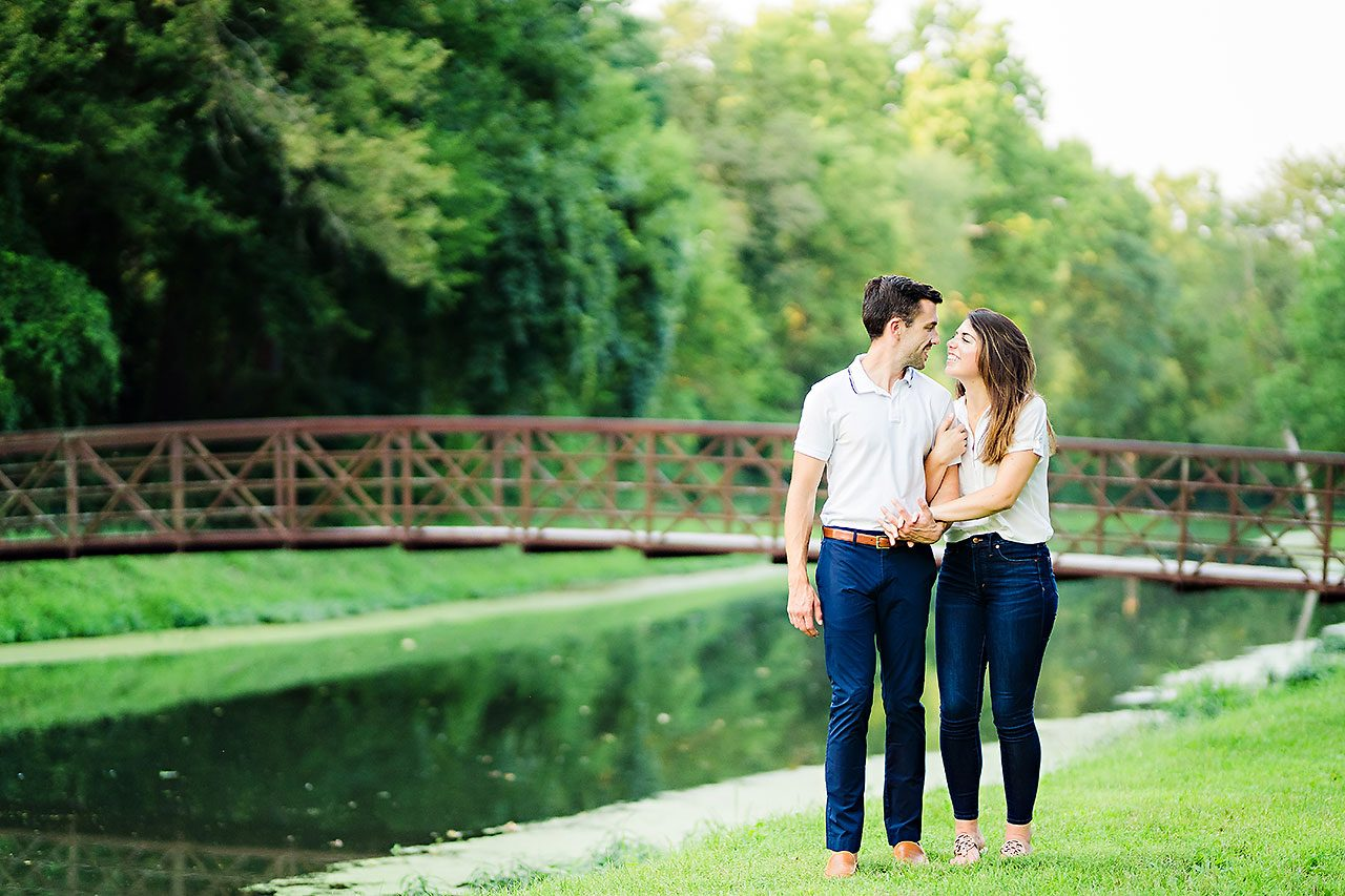 Kate Sawyer Holcomb Gardens Engagement Session 055