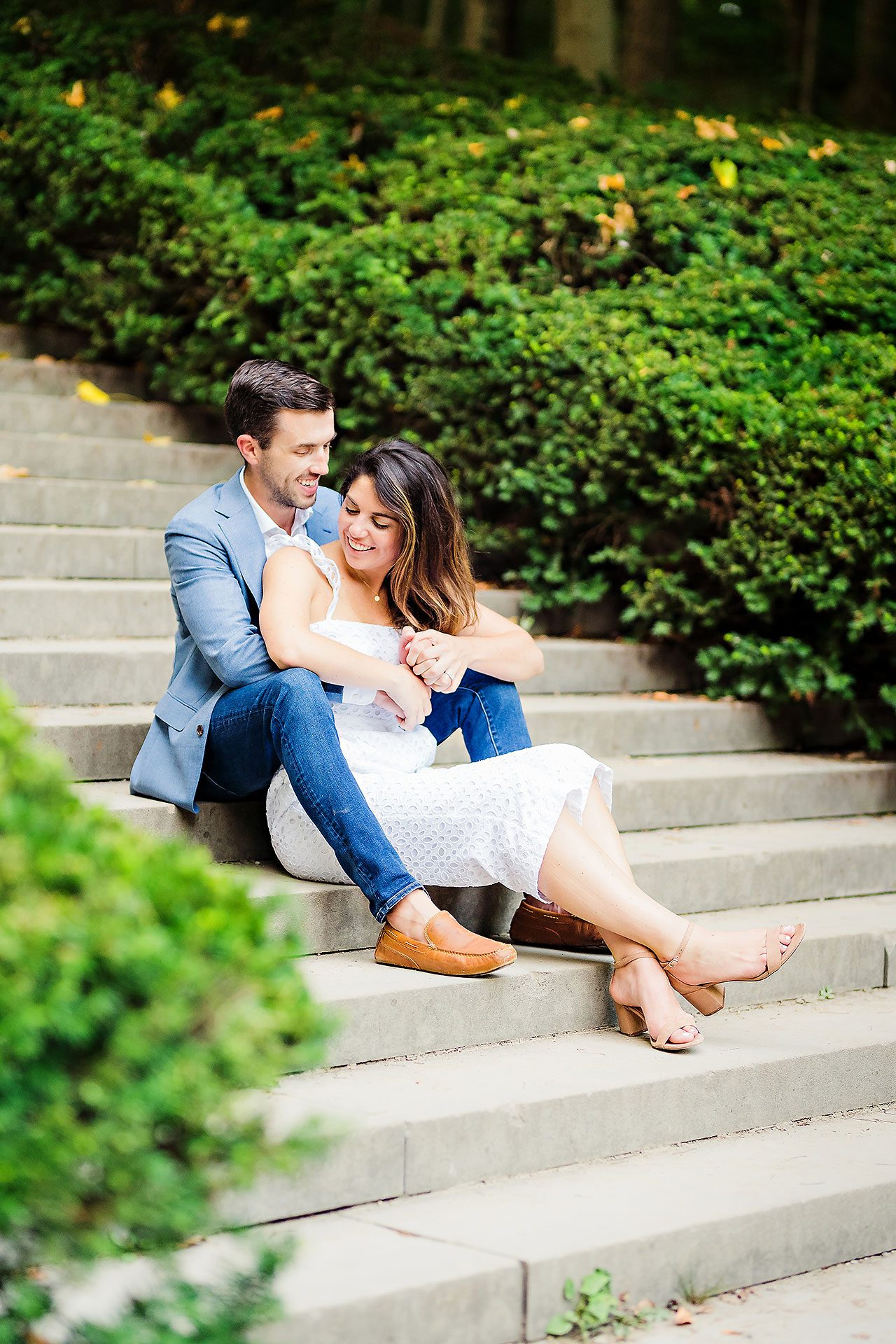 Kate Sawyer Holcomb Gardens Engagement Session 083