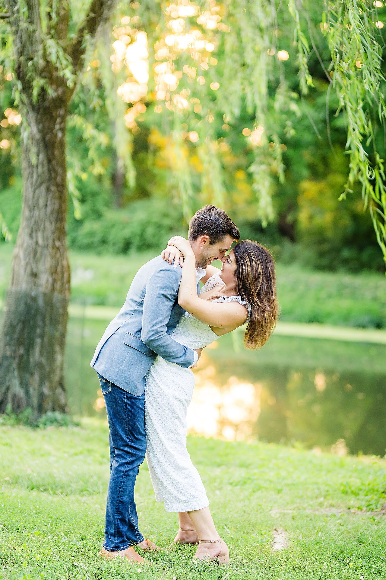 Kate Sawyer Holcomb Gardens Engagement Session 085