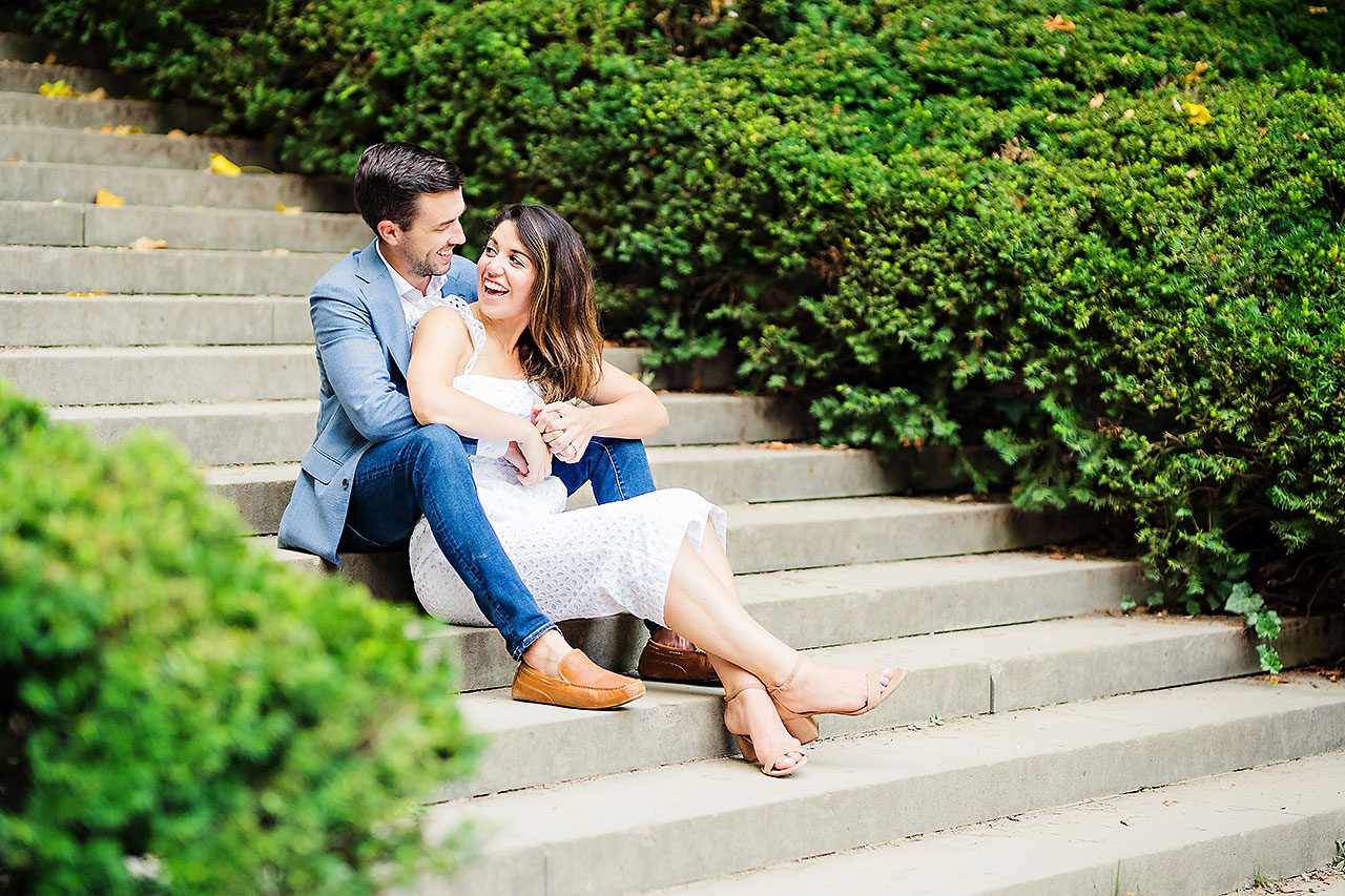 Kate Sawyer Holcomb Gardens Engagement Session 110