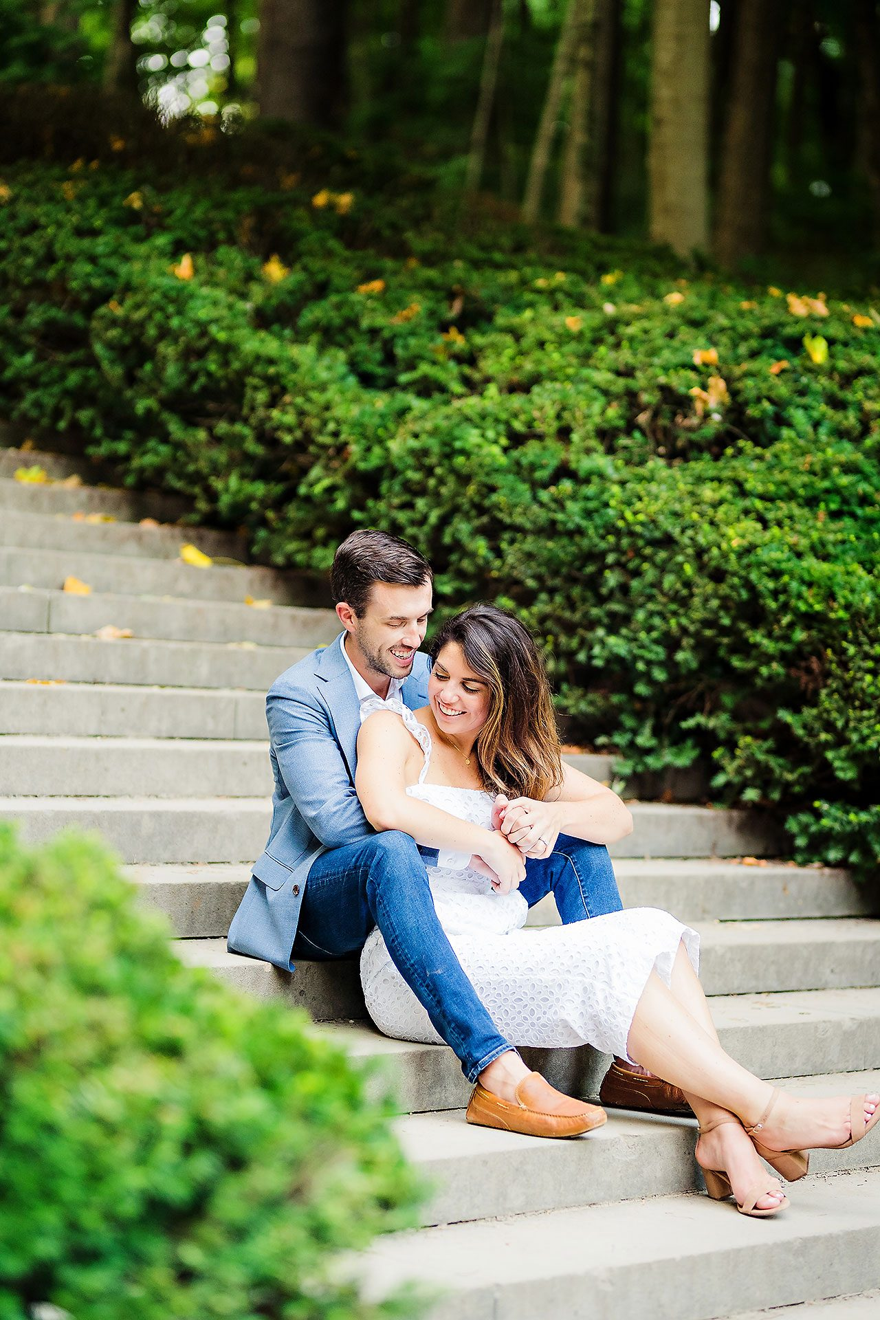 Kate Sawyer Holcomb Gardens Engagement Session 120