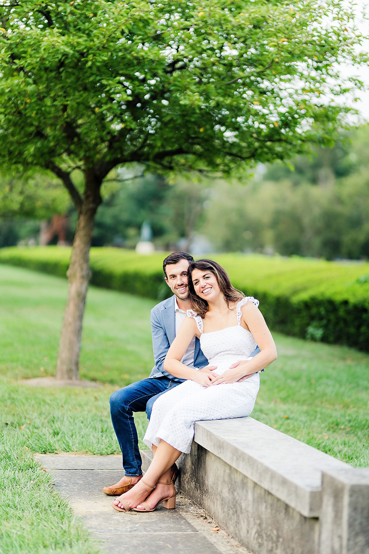 Kate Sawyer Holcomb Gardens Engagement Session 131