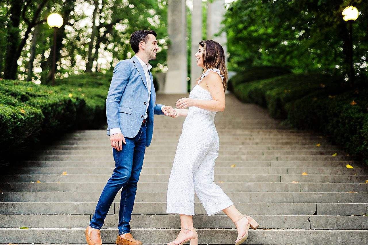 Kate Sawyer Holcomb Gardens Engagement Session 139