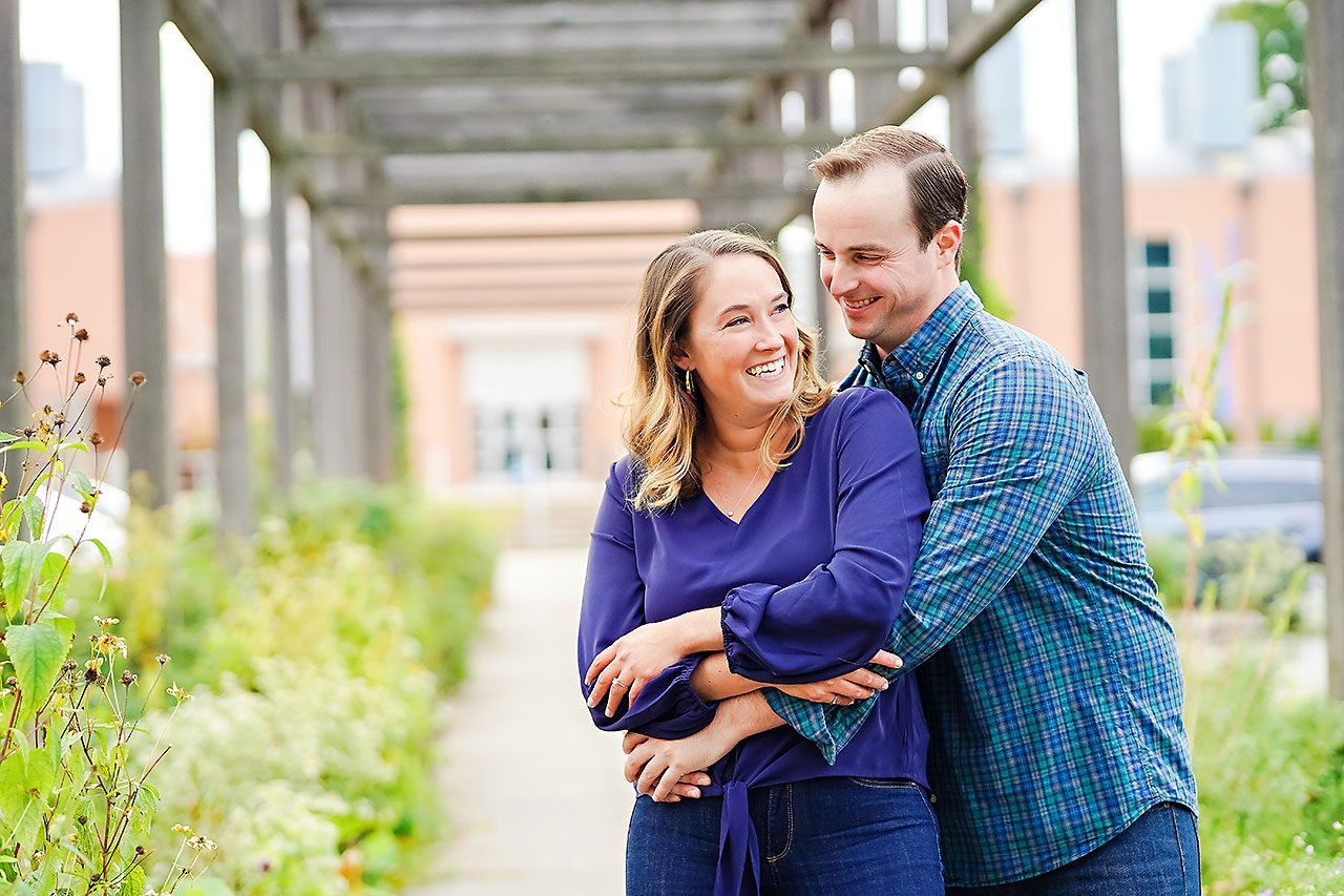 Maddie Zach Broad Ripple Engagement Session 011
