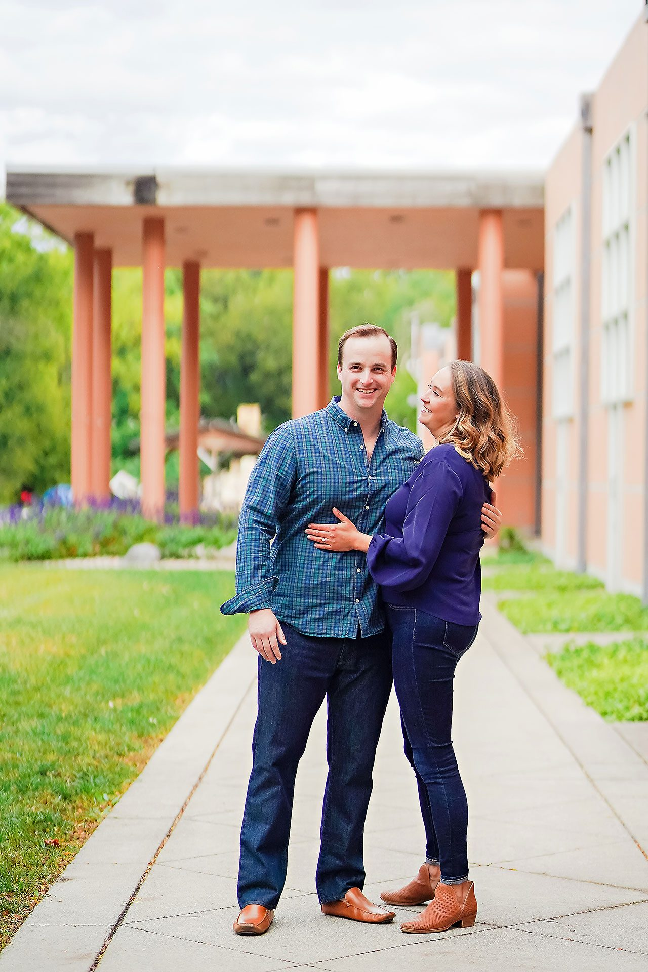 Maddie Zach Broad Ripple Engagement Session 023
