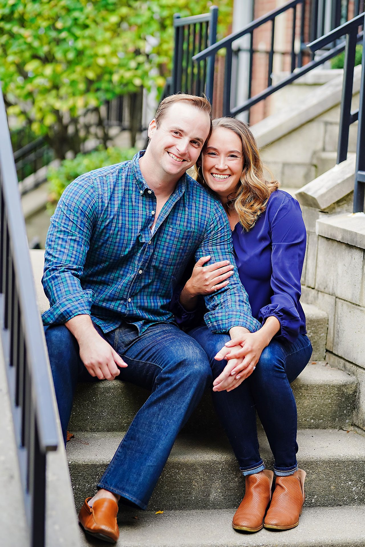 Maddie Zach Broad Ripple Engagement Session 029