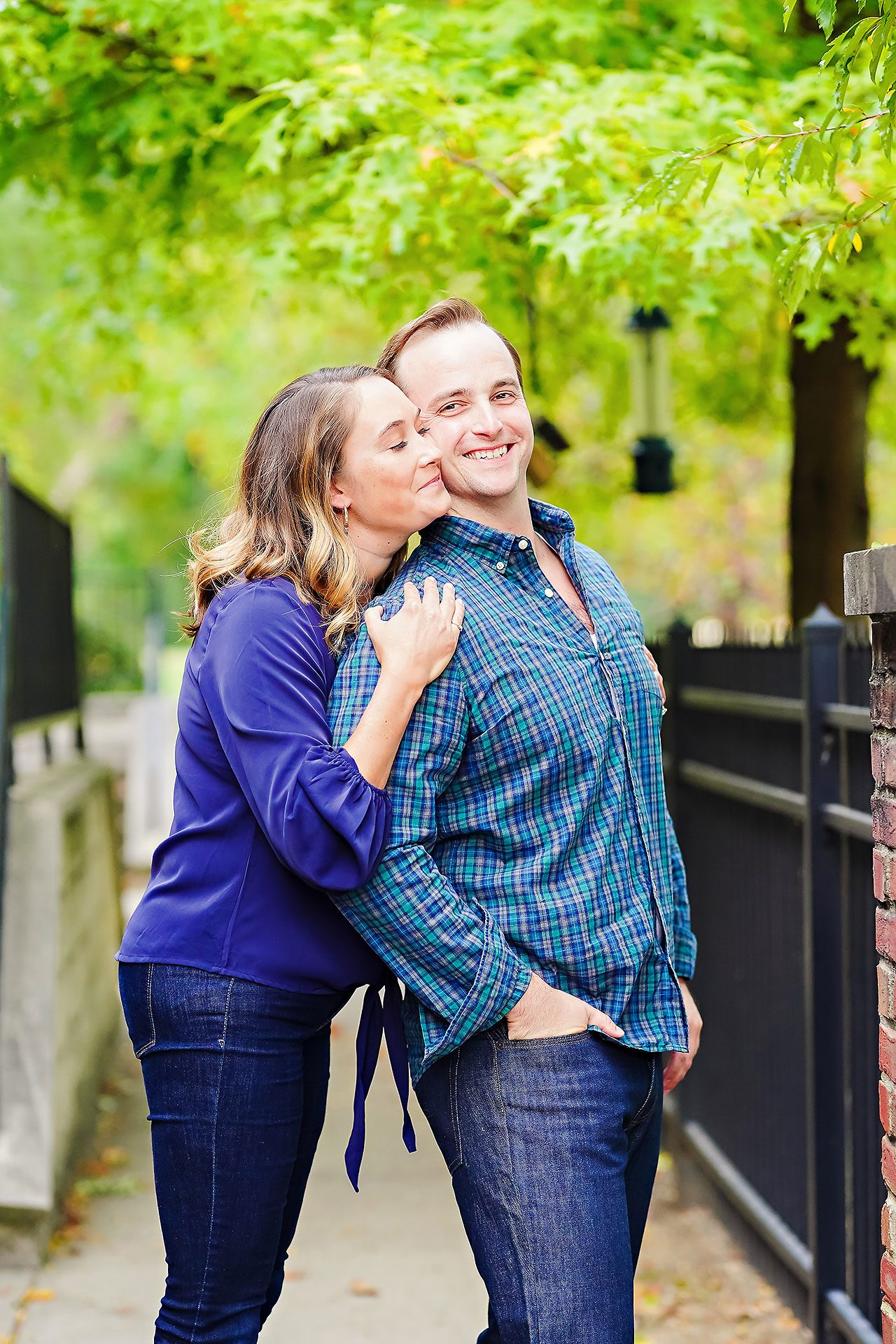 Maddie Zach Broad Ripple Engagement Session 033