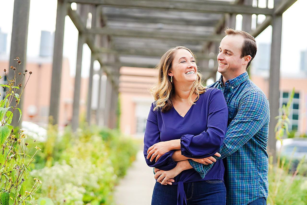 Maddie Zach Broad Ripple Engagement Session 039