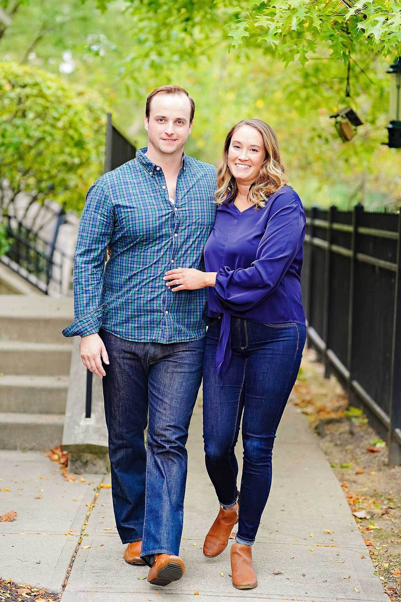 Maddie Zach Broad Ripple Engagement Session 054