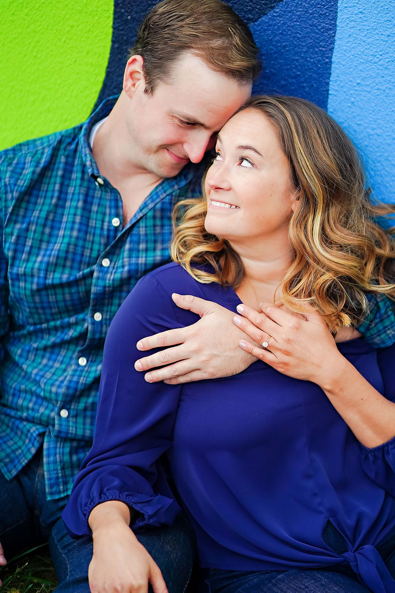 Maddie Zach Broad Ripple Engagement Session 061