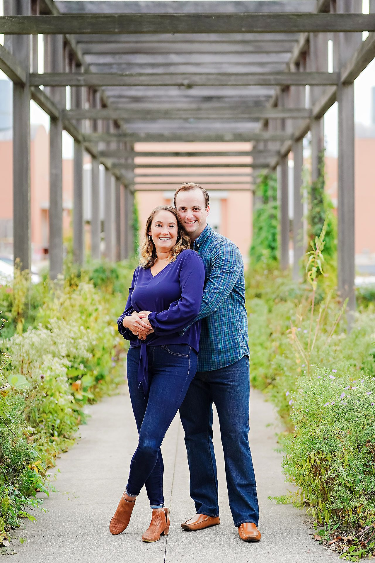 Maddie Zach Broad Ripple Engagement Session 062