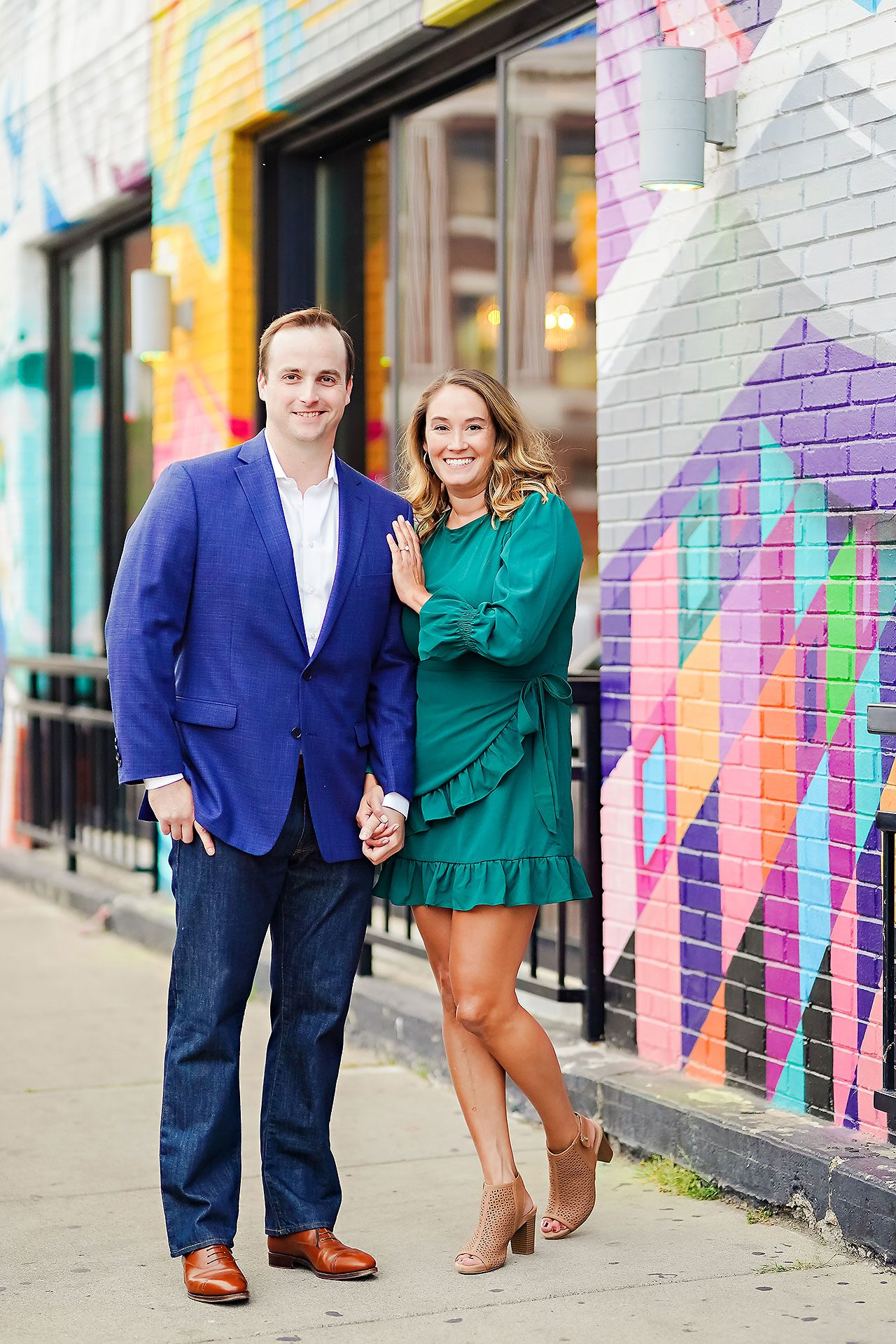 Maddie Zach Broad Ripple Engagement Session 075