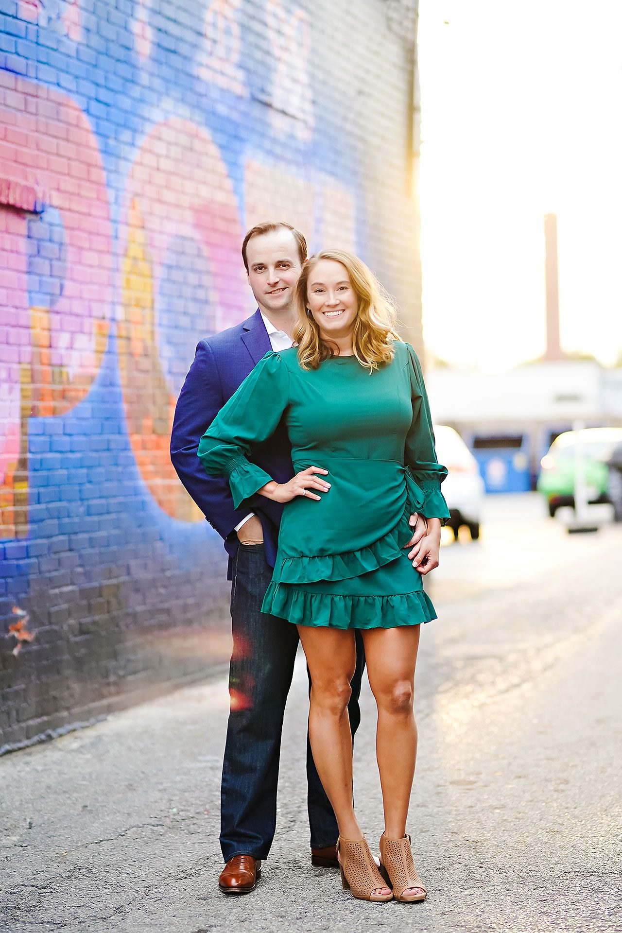 Maddie Zach Broad Ripple Engagement Session 078