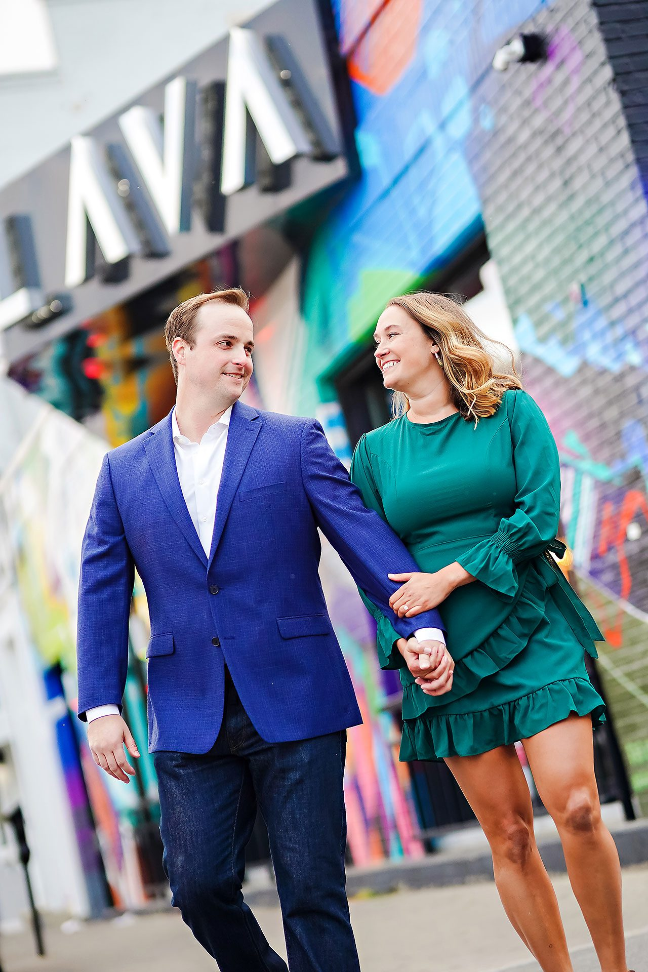 Maddie Zach Broad Ripple Engagement Session 091