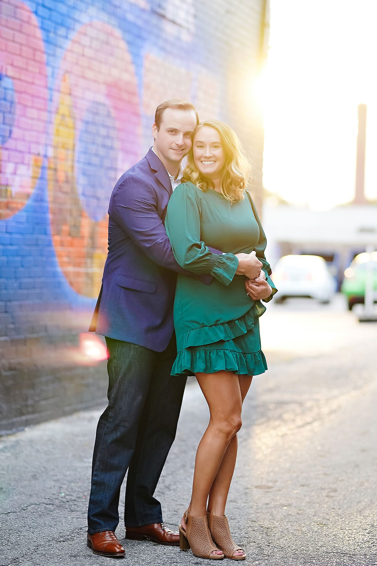 Maddie Zach Broad Ripple Engagement Session 092