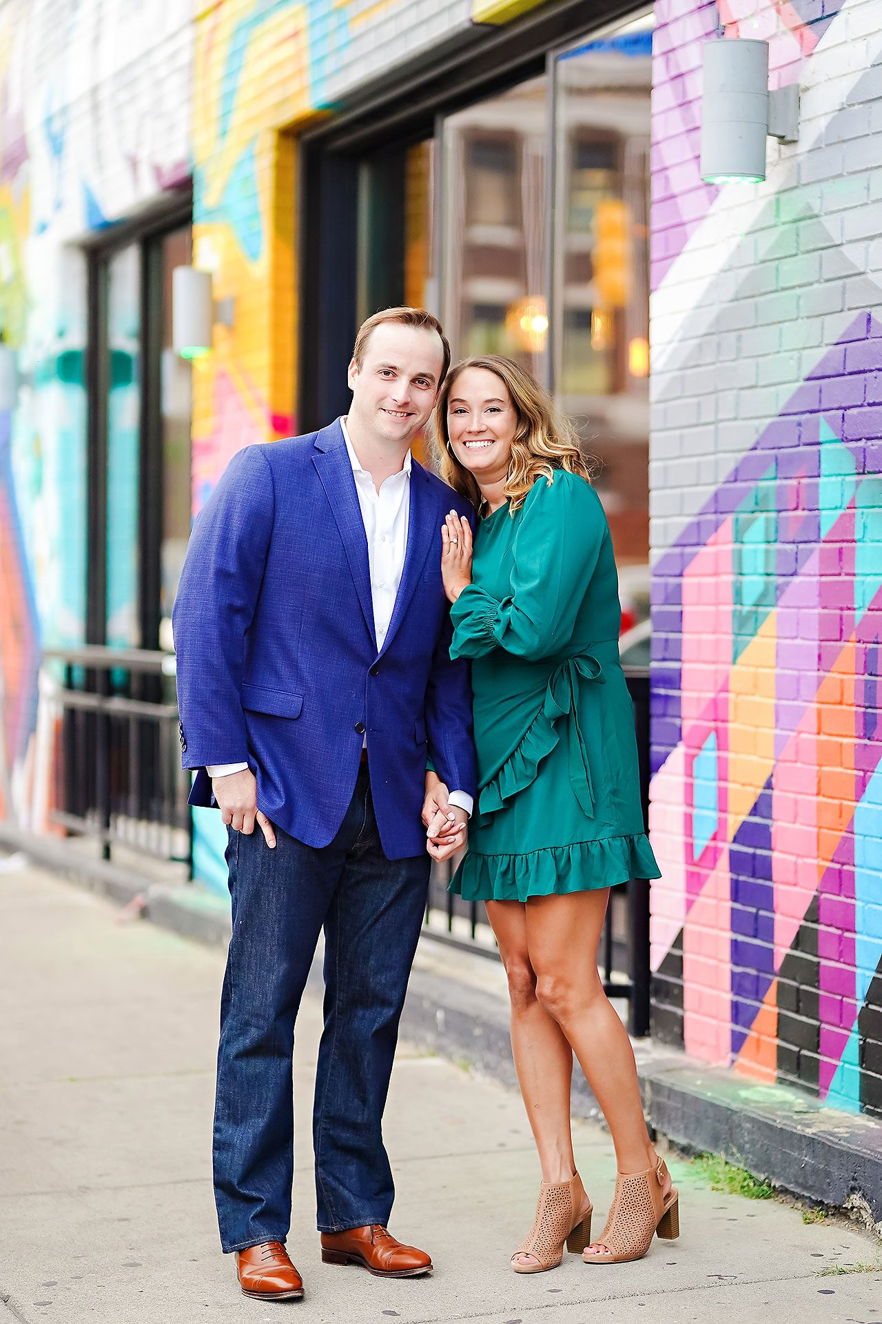 Maddie Zach Broad Ripple Engagement Session 093