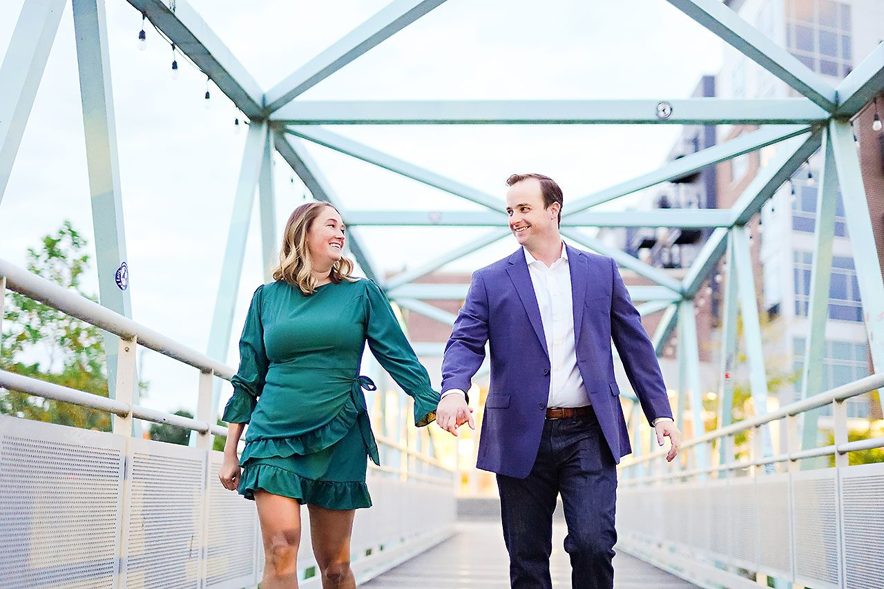 Maddie Zach Broad Ripple Engagement Session 097