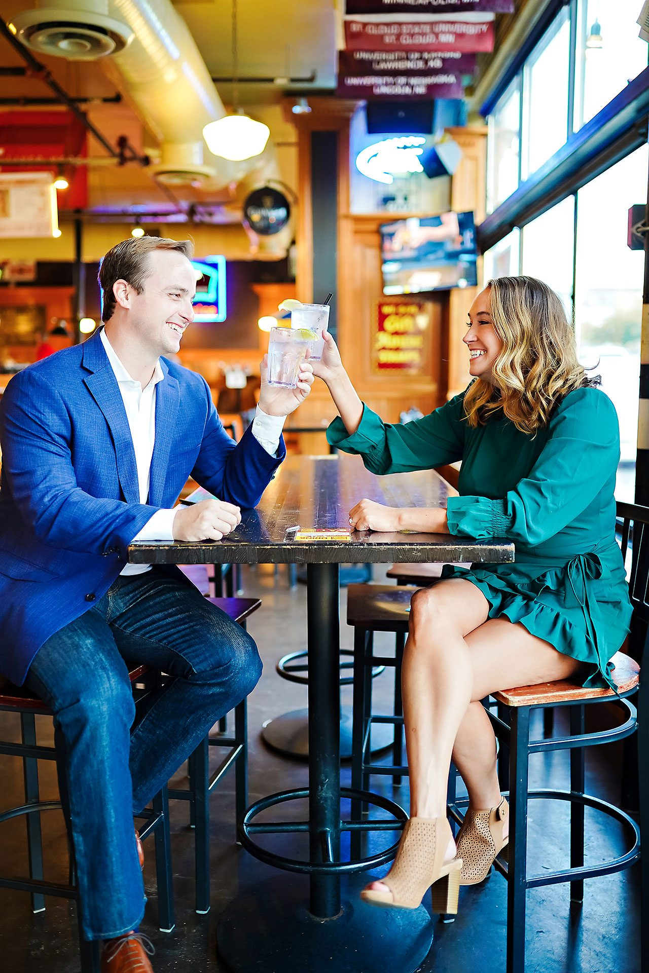 Maddie Zach Broad Ripple Engagement Session 100