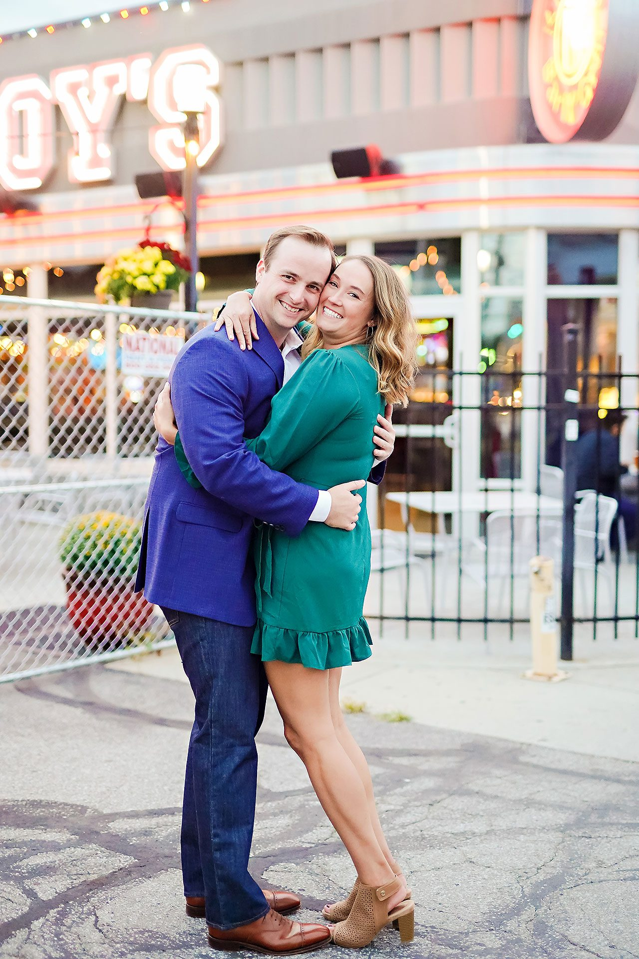 Maddie Zach Broad Ripple Engagement Session 101