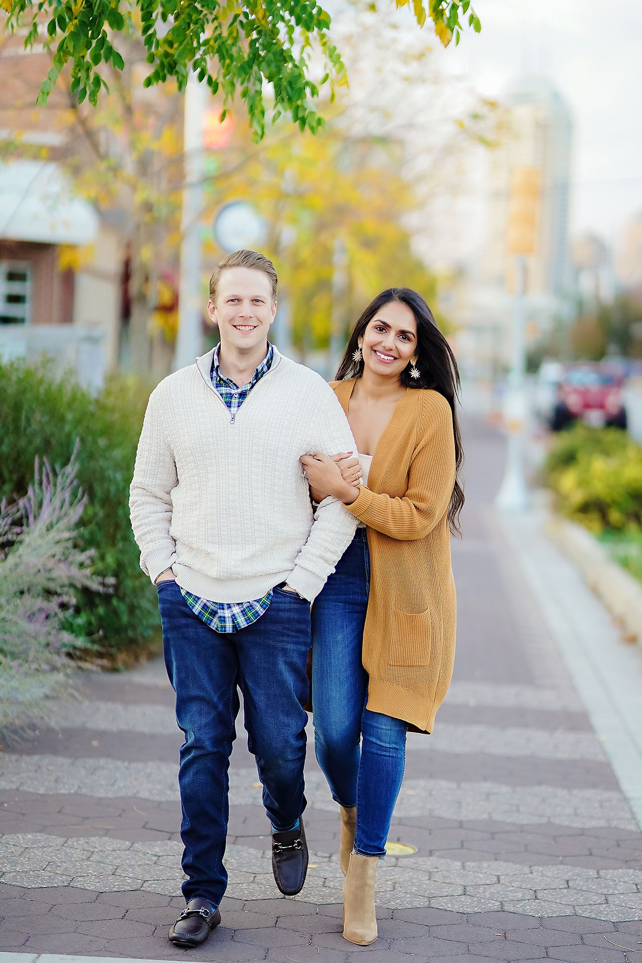 Nadia Parker Downtown Indy Engagement Session169