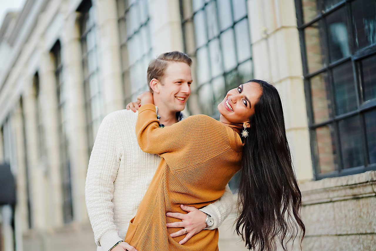 Nadia Parker Downtown Indy Engagement Session170