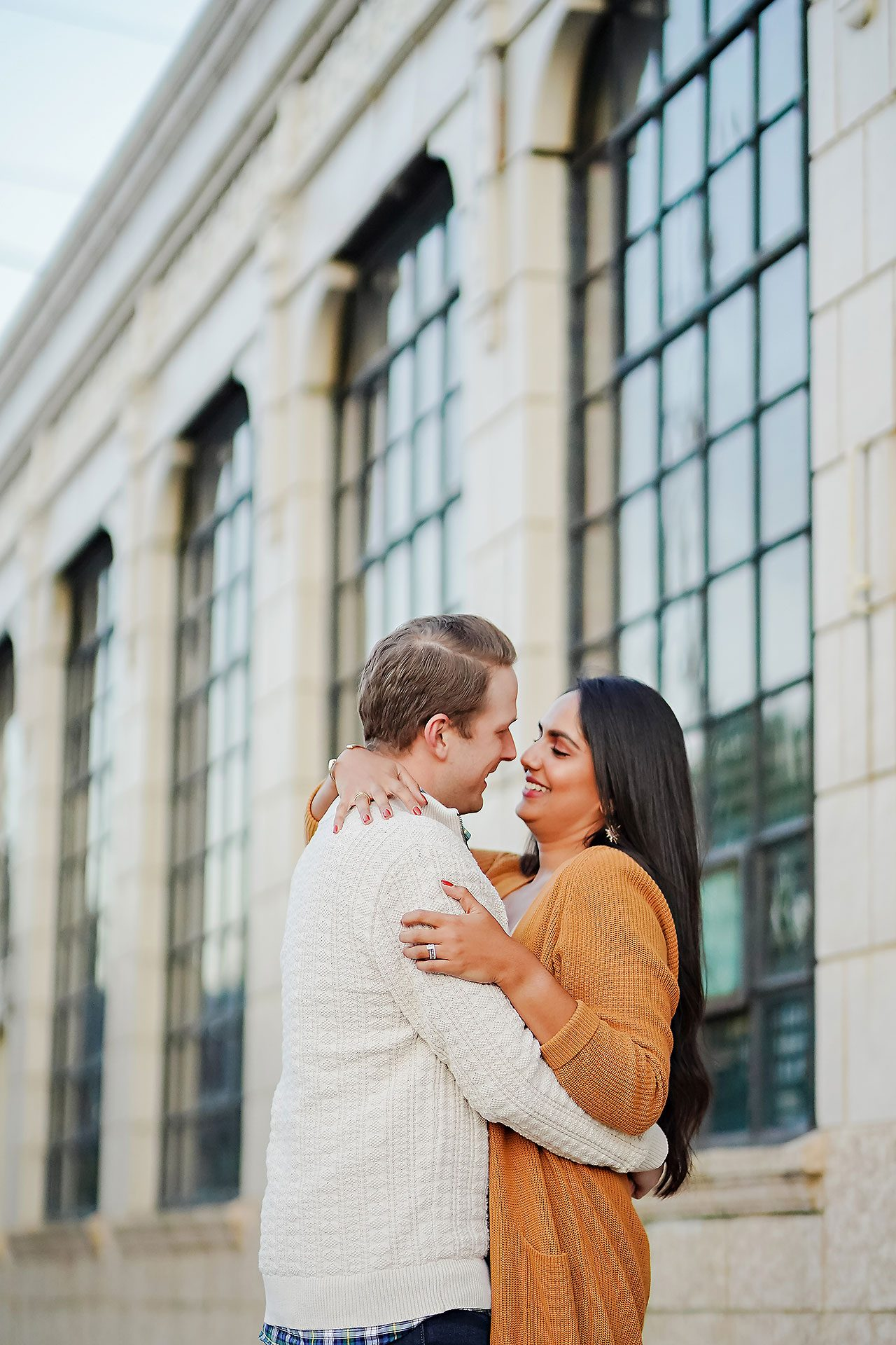 Nadia Parker Downtown Indy Engagement Session176