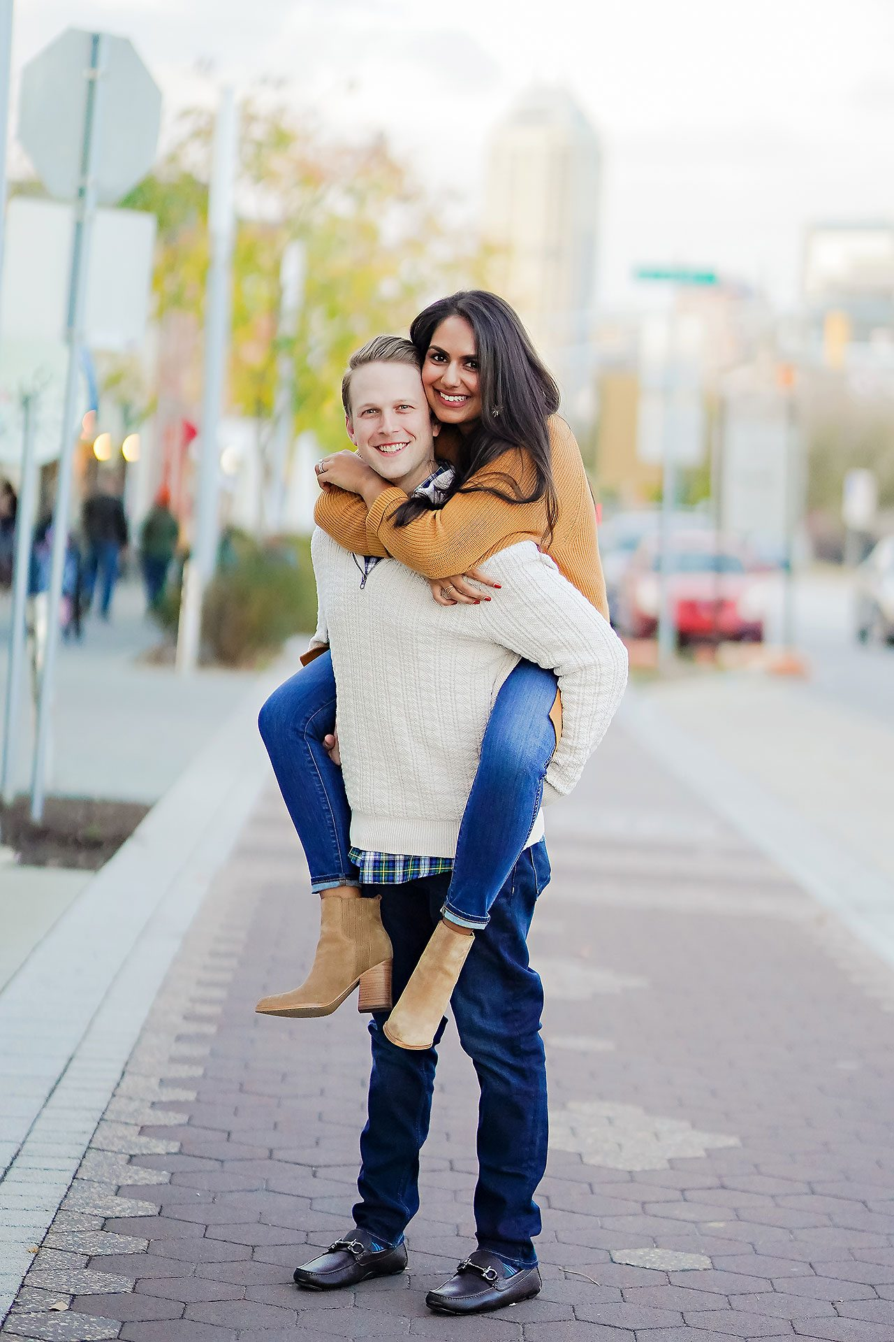 Nadia Parker Downtown Indy Engagement Session177