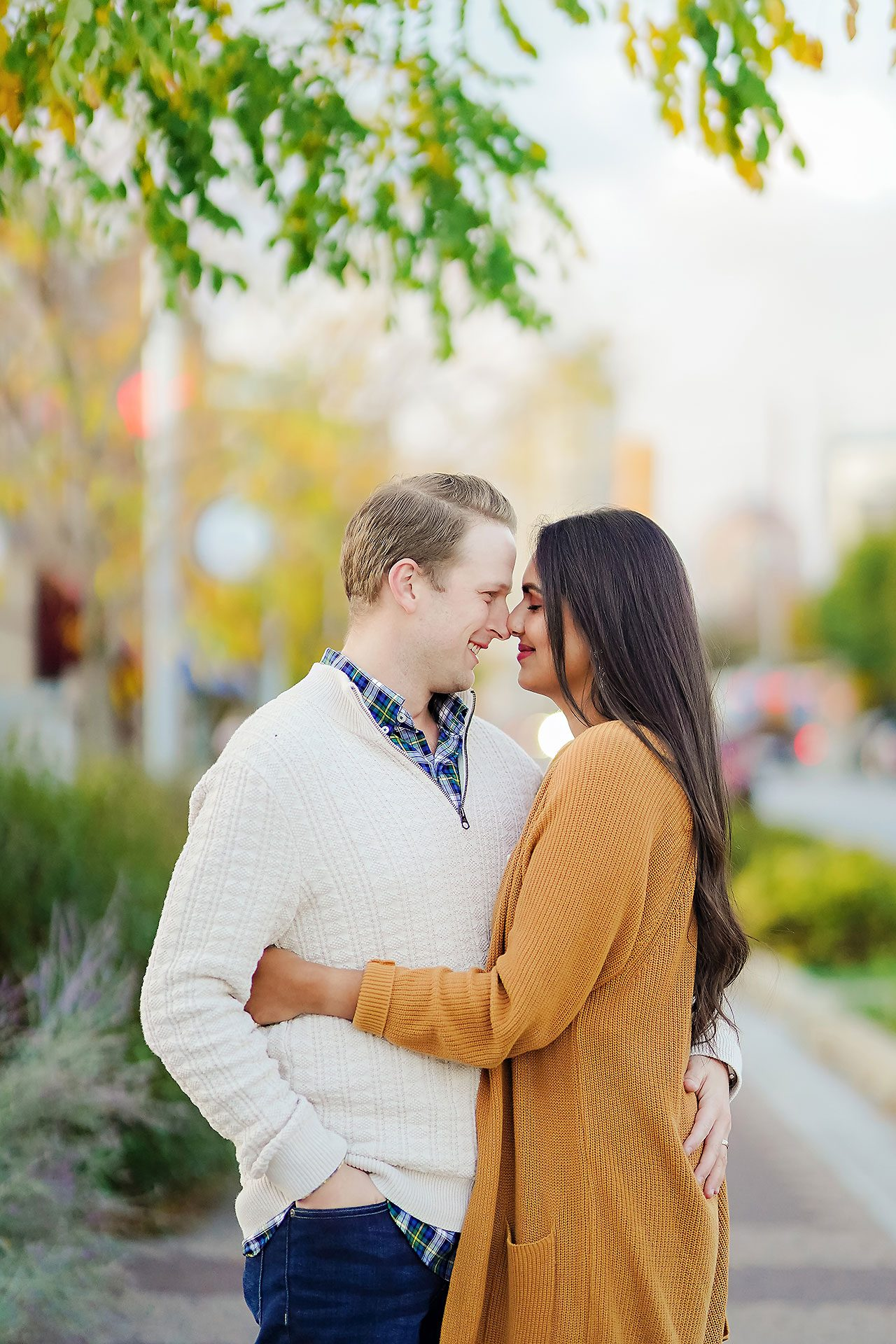 Nadia Parker Downtown Indy Engagement Session179