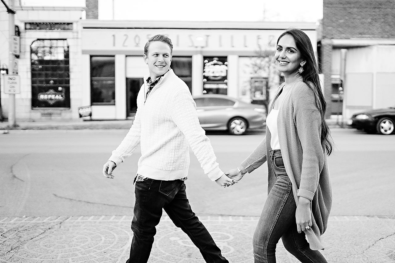 Nadia Parker Downtown Indy Engagement Session185