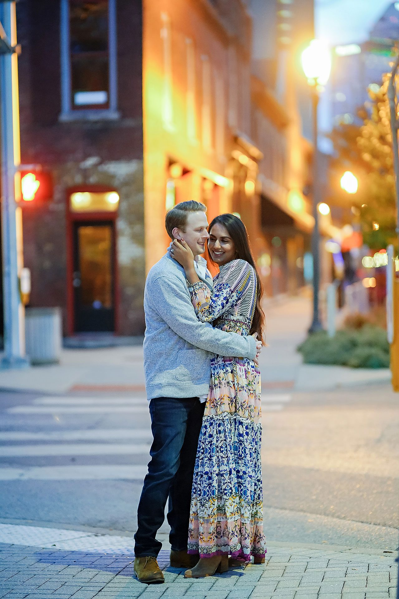 Nadia Parker Downtown Indy Engagement Session208