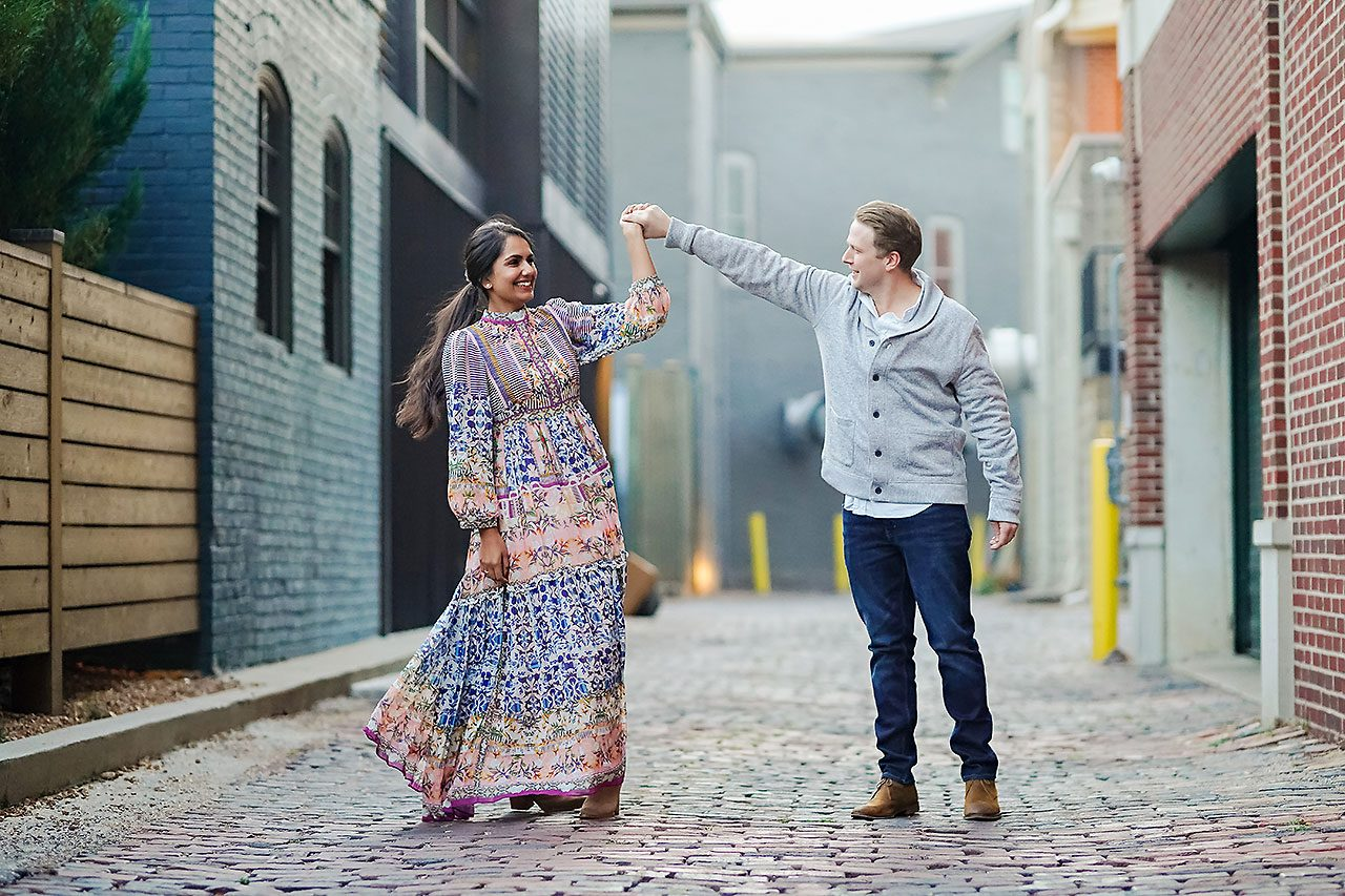 Nadia Parker Downtown Indy Engagement Session214