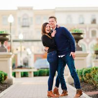 MacKinze John Downtown Carmel Engagement Session