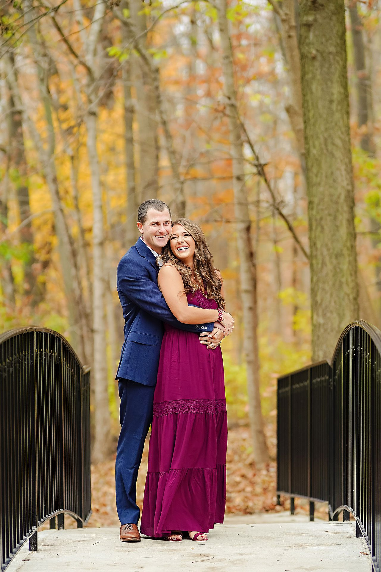 Sarah Andrew Holcomb Gardens Zionsville Engagement Session 033