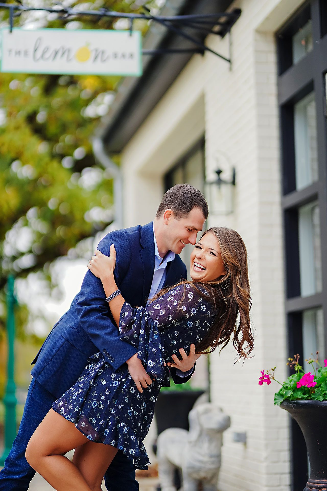 Sarah Andrew Holcomb Gardens Zionsville Engagement Session 087