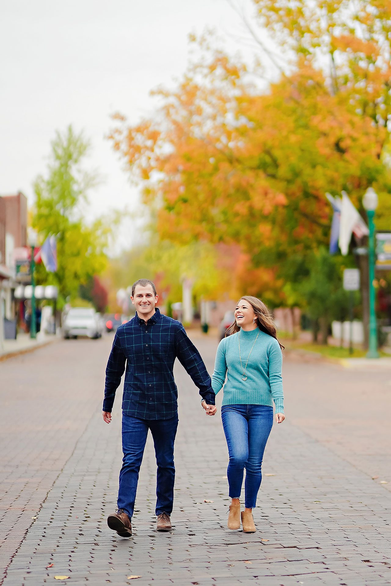 Sarah Andrew Holcomb Gardens Zionsville Engagement Session 104