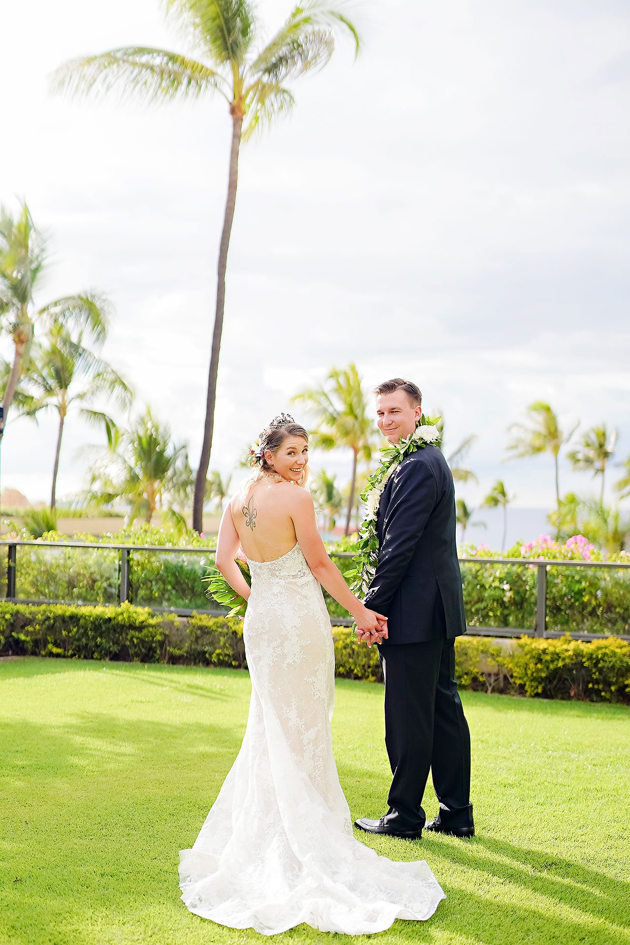 Kendra Pete Four Seasons Maui Wedding 106