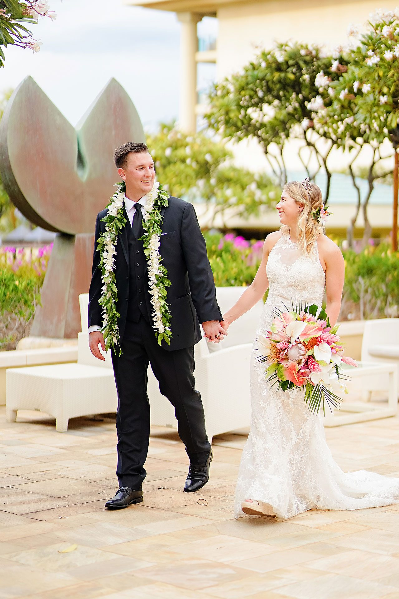 Kendra Pete Four Seasons Maui Wedding 122