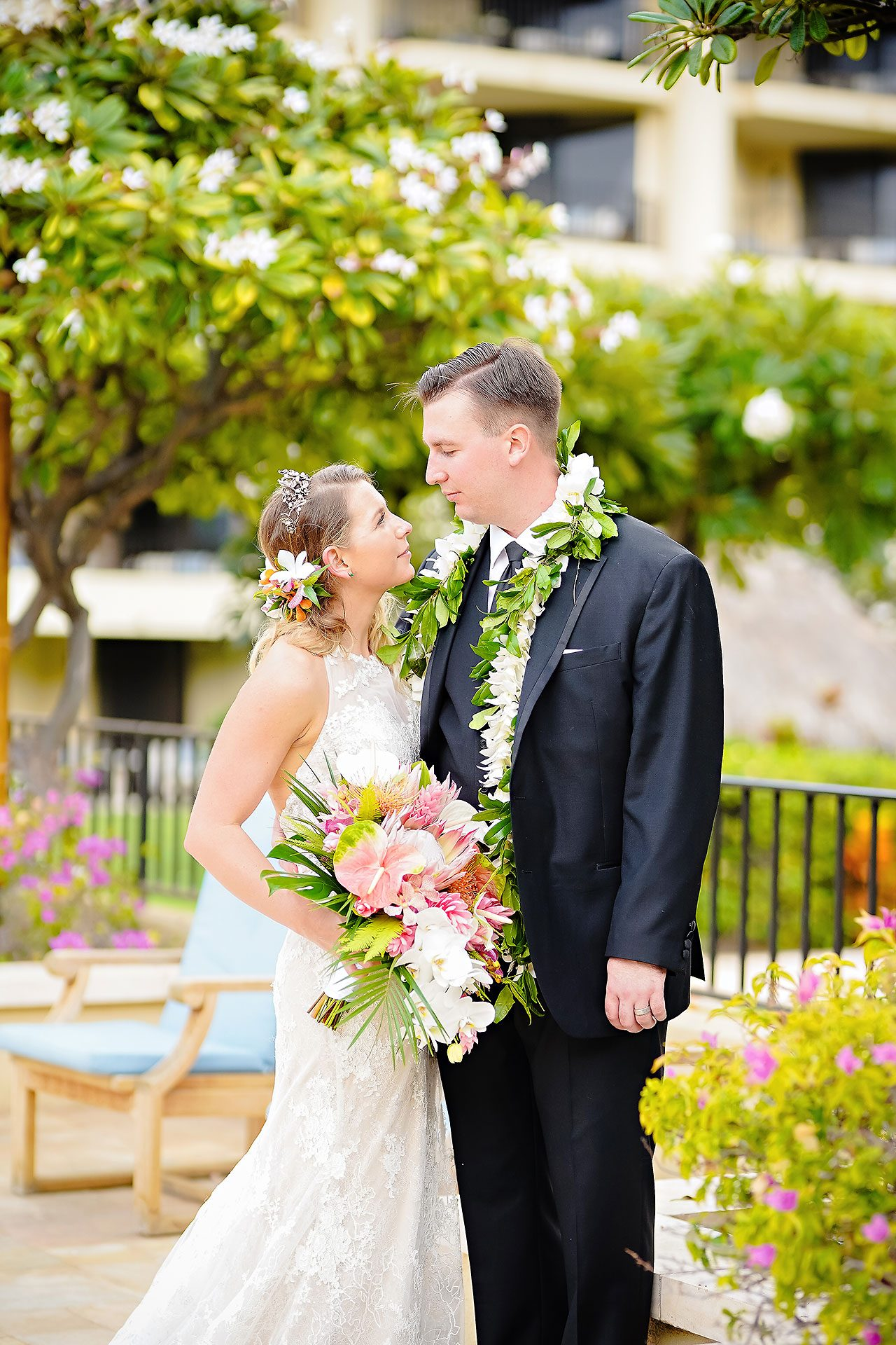 Kendra Pete Four Seasons Maui Wedding 131