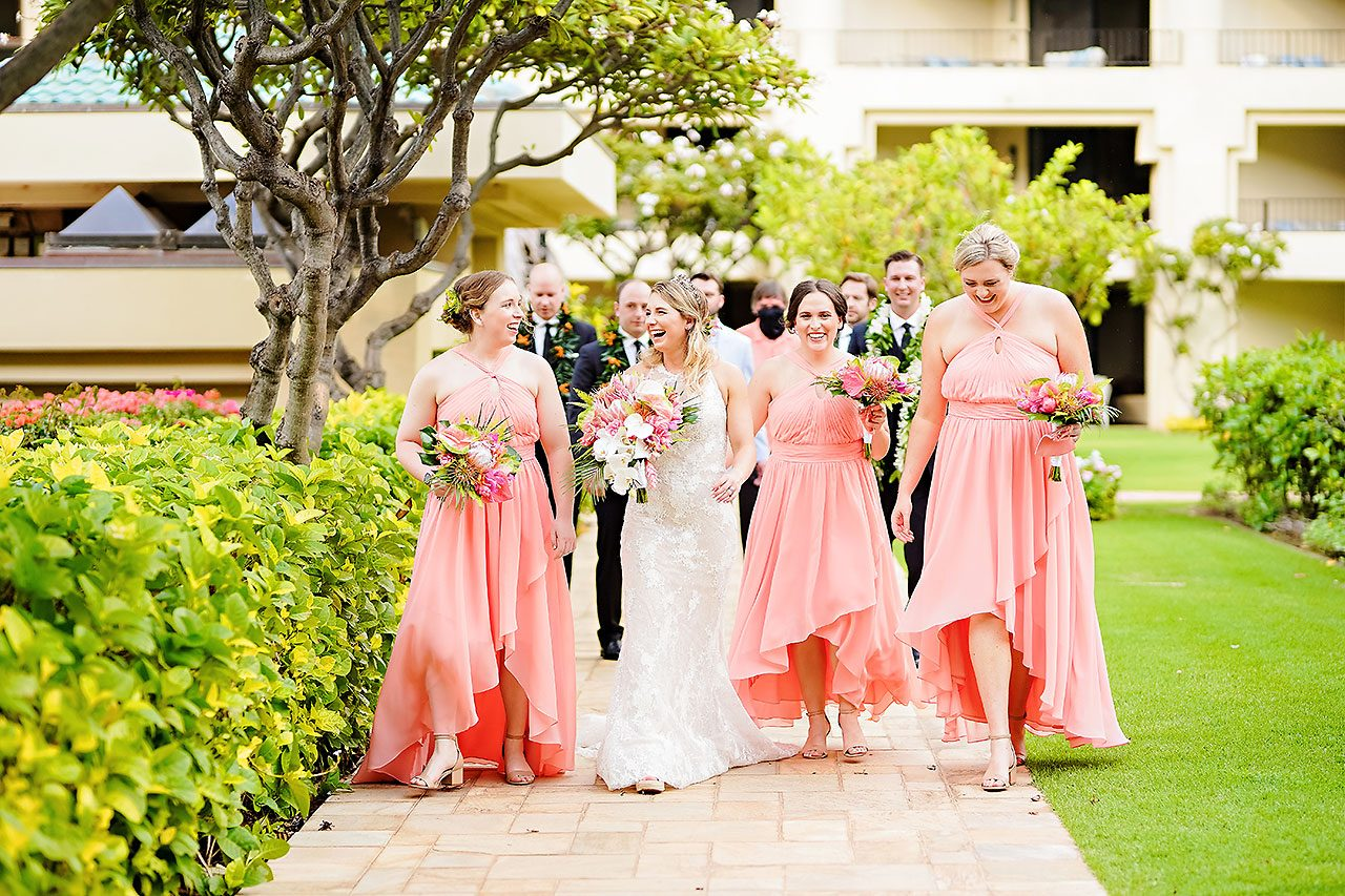 Kendra Pete Four Seasons Maui Wedding 134