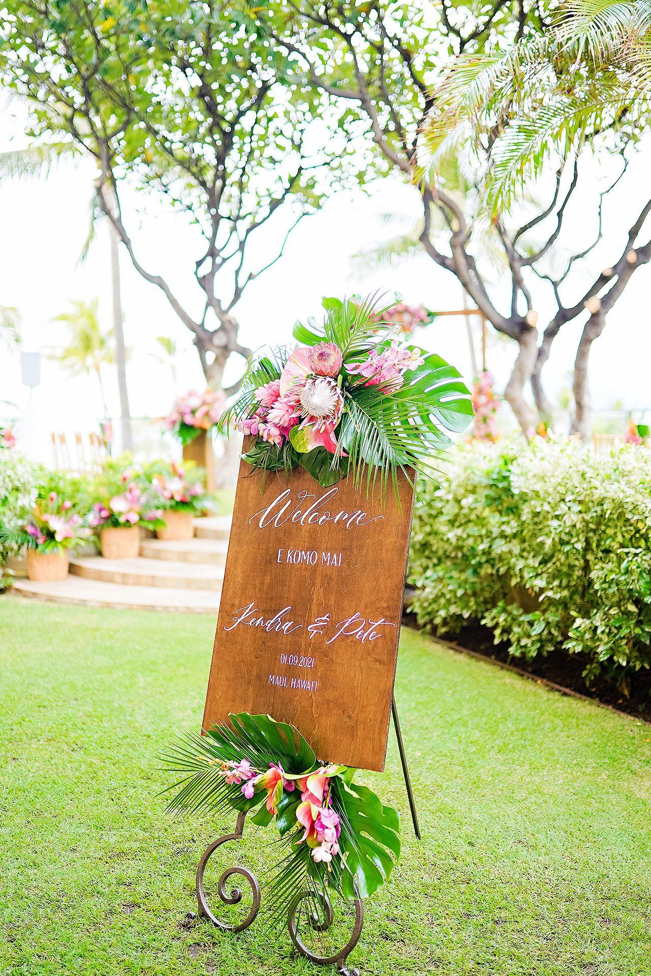 Kendra Pete Four Seasons Maui Wedding 143