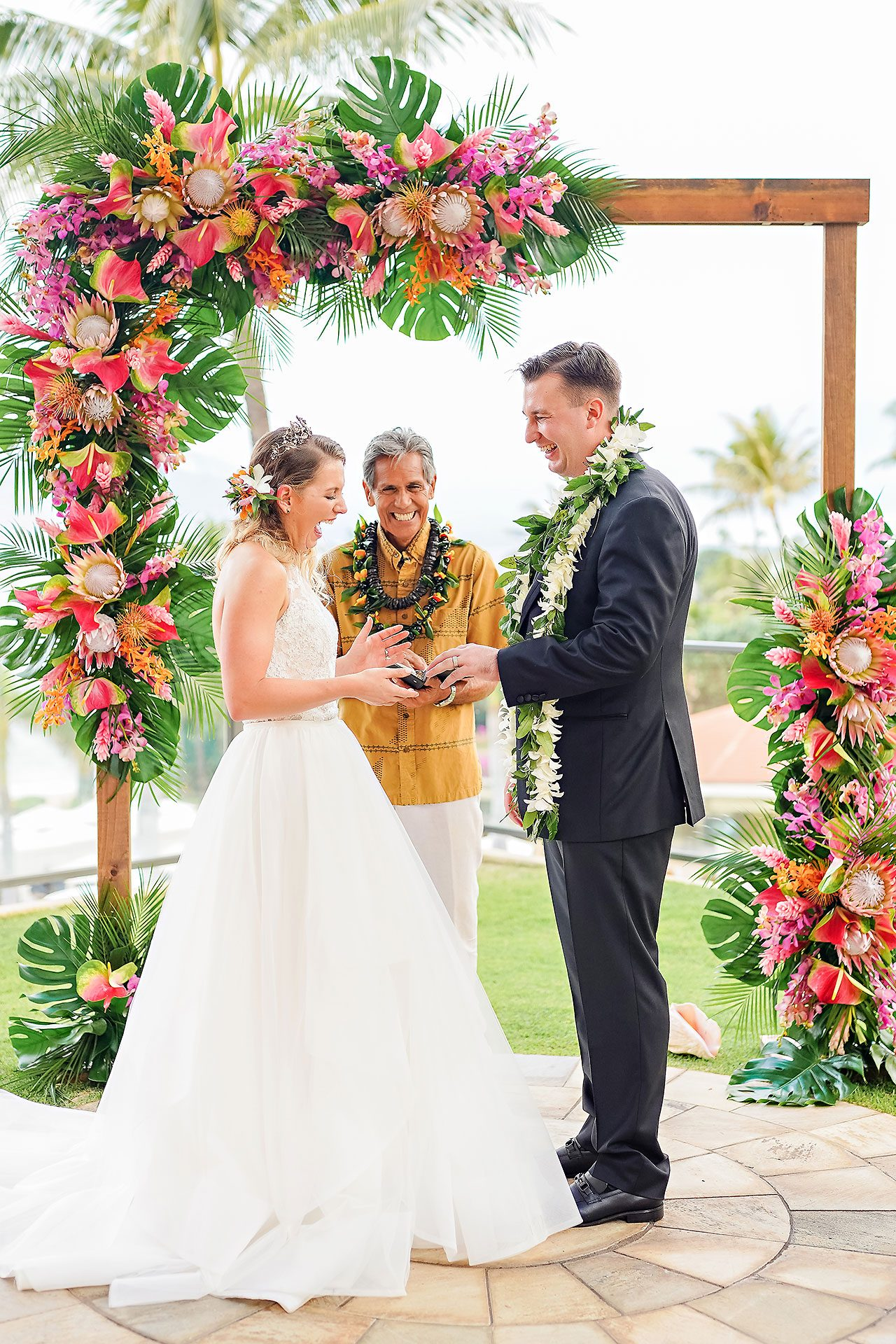 Kendra Pete Four Seasons Maui Wedding 181