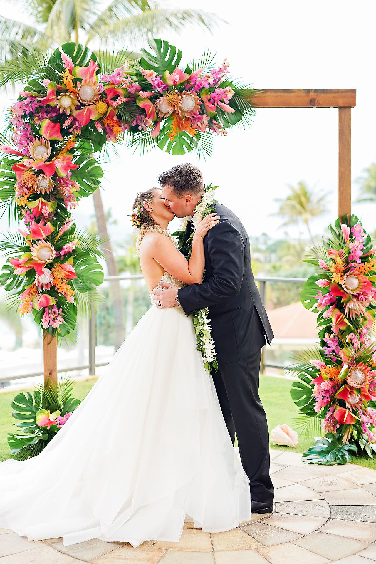 Kendra Pete Four Seasons Maui Wedding 185