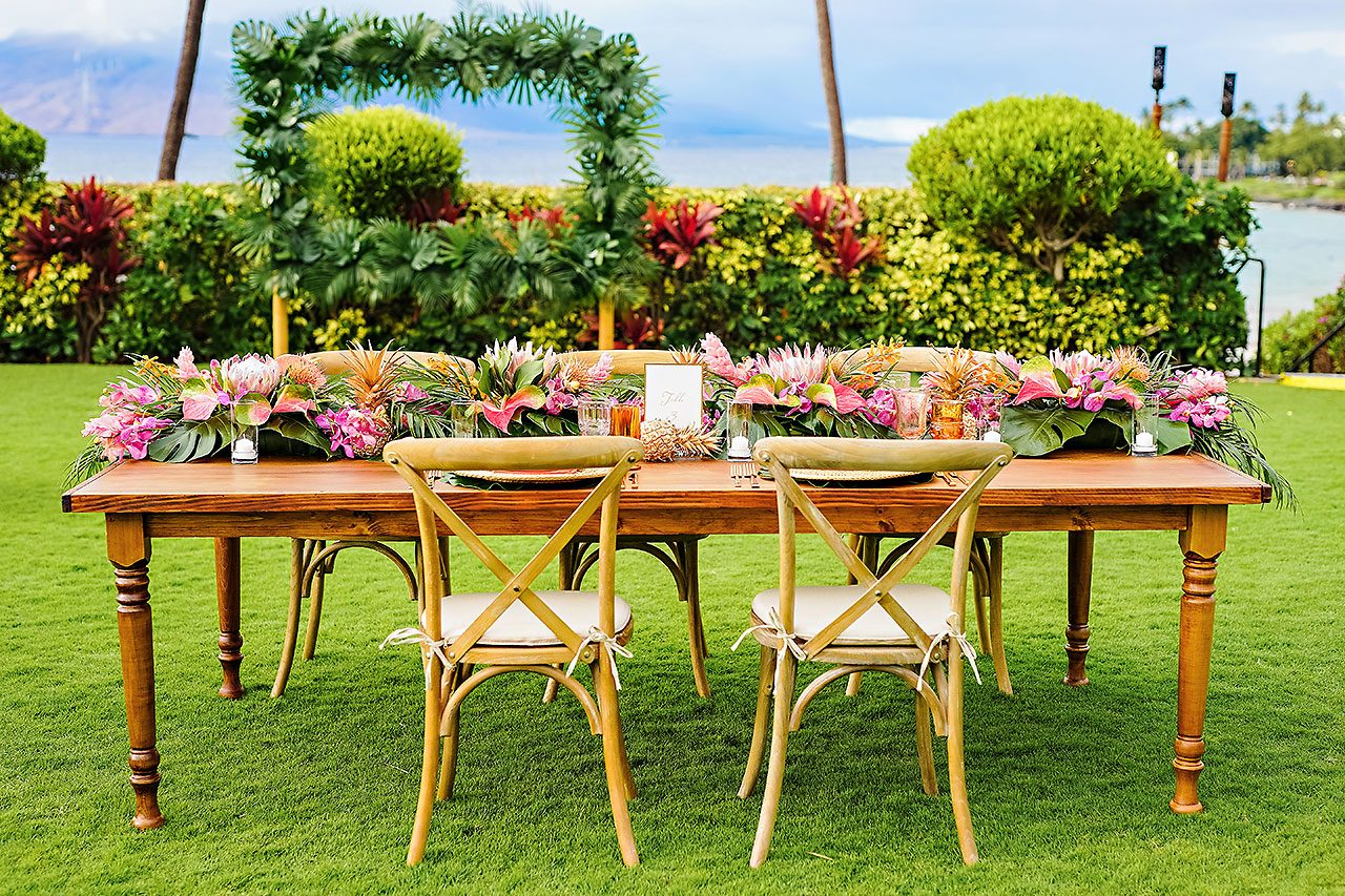 Kendra Pete Four Seasons Maui Wedding 249