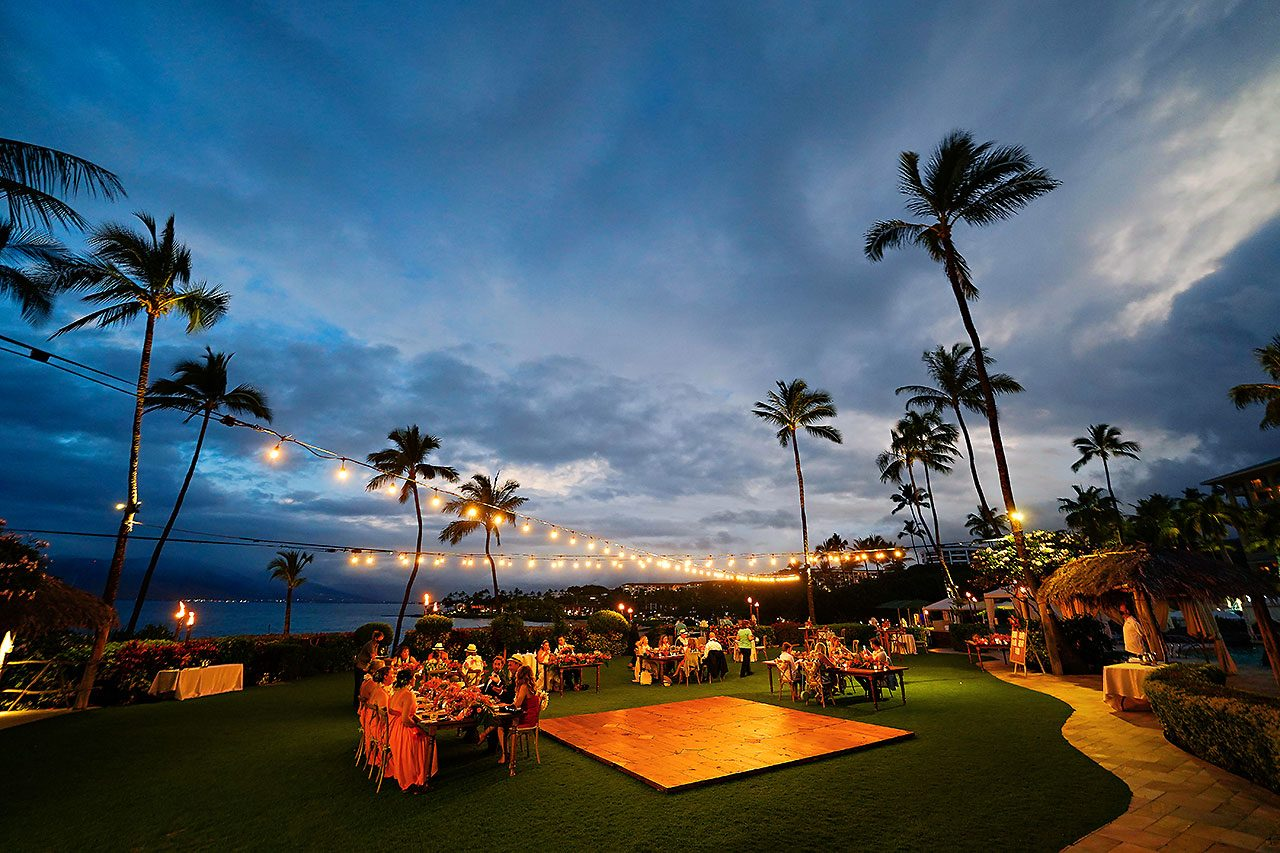 Kendra Pete Four Seasons Maui Wedding 274