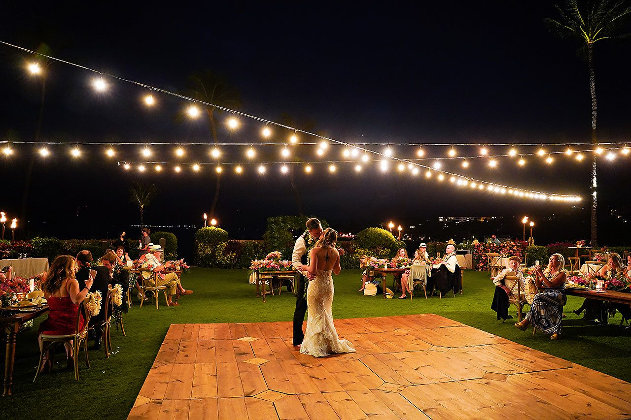 Kendra Pete Four Seasons Maui Wedding 289